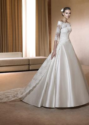 victorias bröllopsklänning