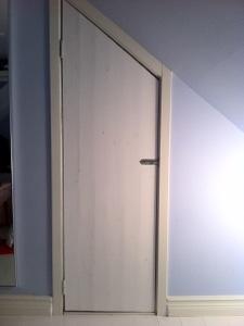 Garderobsdörr