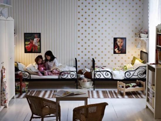 Sänghimmel till barnen och att dela sovrum – Malin inredare