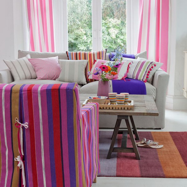 Candy-Striped-Living-Room