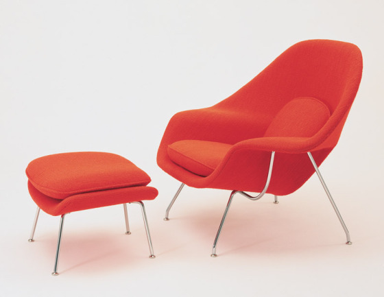 saarinen-womb-chair-and-ottoman-via-knoll