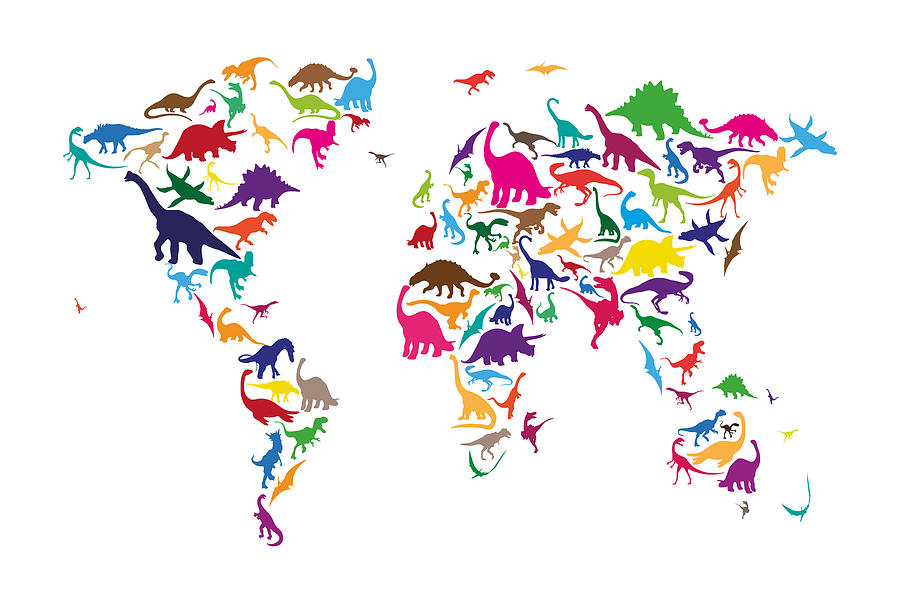 1-dinosaur-map-of-the-world-map-michael-tompsett