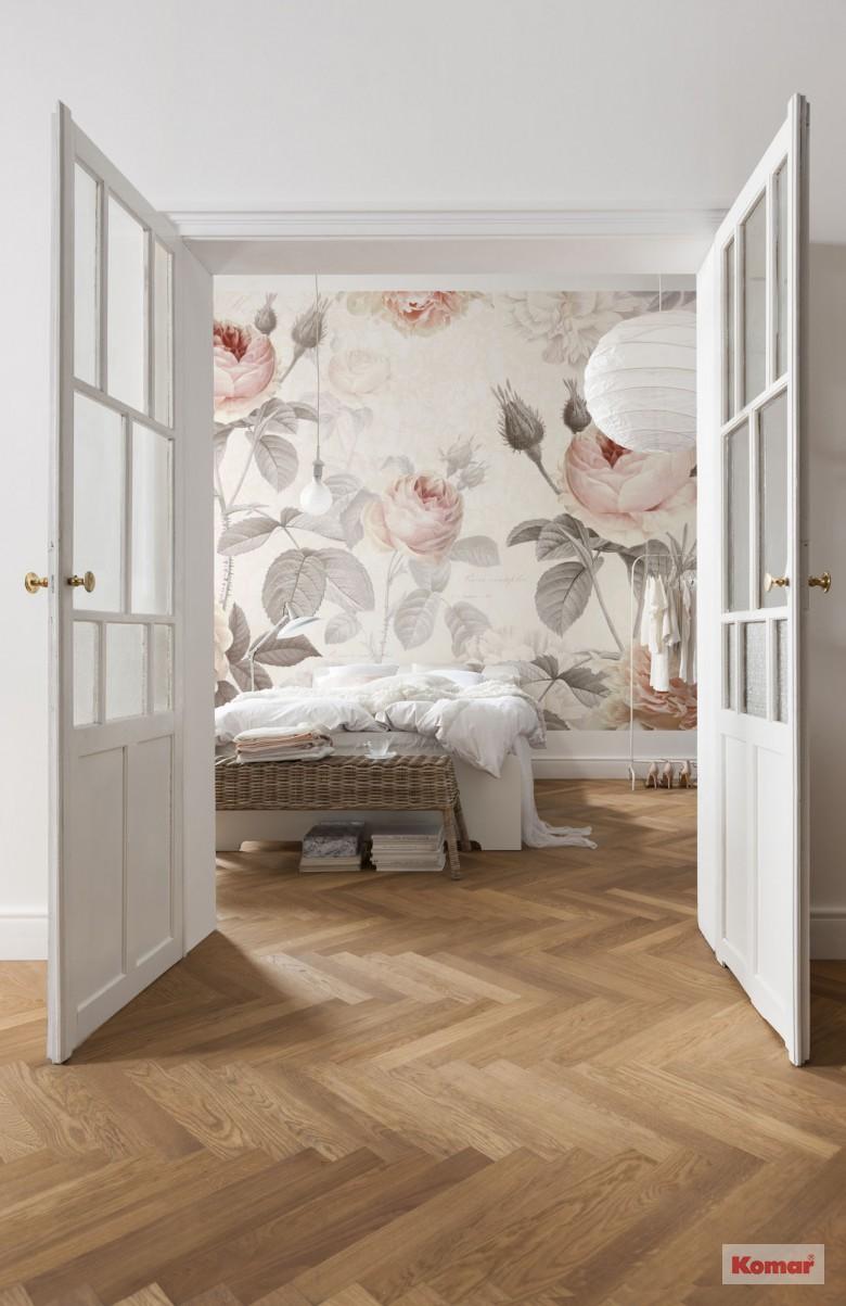 Sovrum för rosälskare